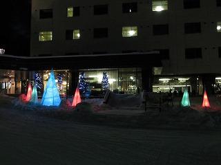 観光ホテル雪あかり全体