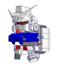 SD陸戦型ガンダム