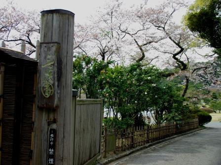 三渓園 入口