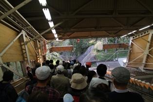 立山ケーブルカー 美女平駅