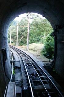 立山ケーブルカートンネル