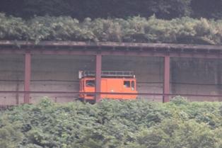 トロッコ電車 パトロール車両
