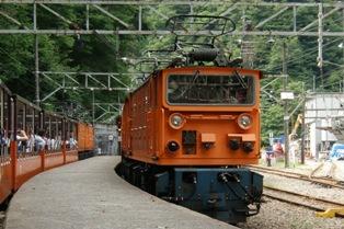 猫又駅トロッコ電車