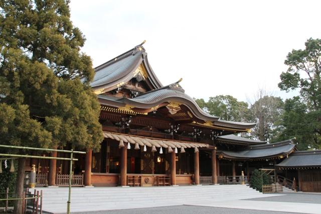 寒川神社 ご本殿