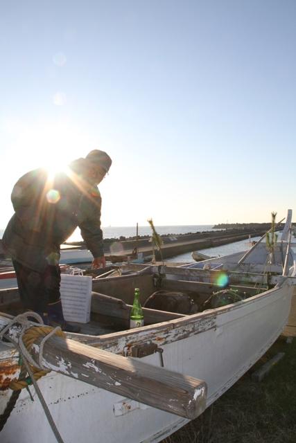 漁船松飾り