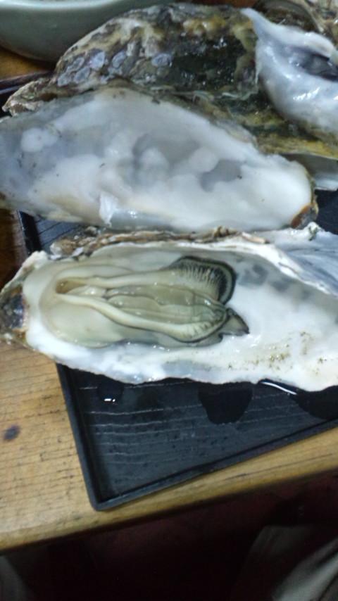 酒蒸しの牡蠣