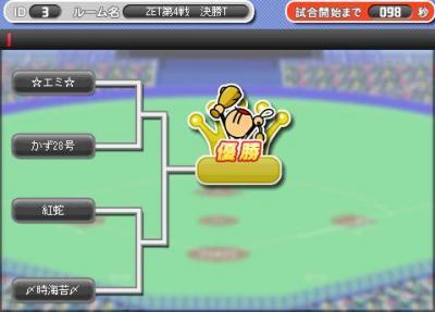 ZET4決勝組み合わせ
