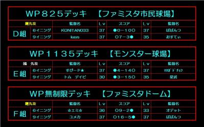 鷹vs鴎2nd 組み合わせ1