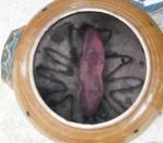 ハウスクリーニングスタッフと焼き芋1