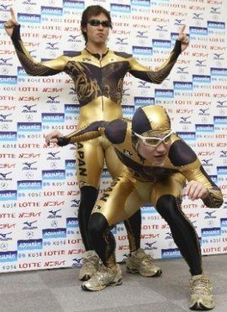 金色スーツ2