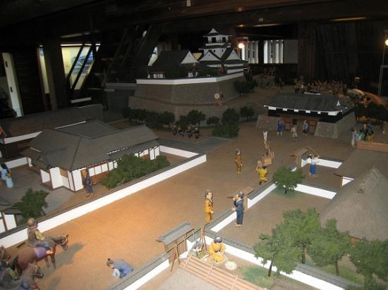 2009/11/23高知城城下町の模型