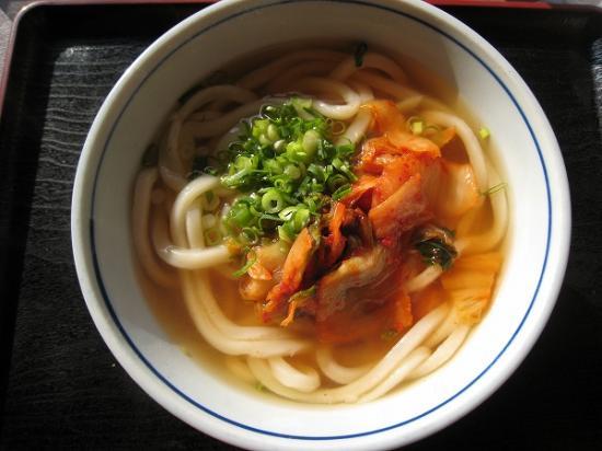 2009/12月/さぬき麺業松並店キムチうどん1