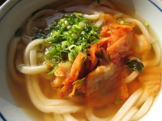 2009/12月/さぬき麺業松並店キムチうどんUP