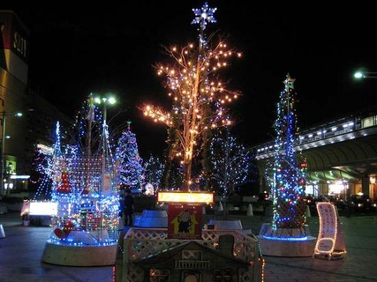 2009/12/05坂出クリスマスイルミ2