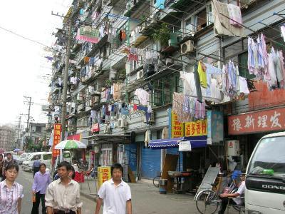 洗濯物上海