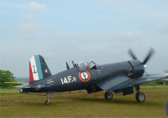French Corsairフランス海軍F4U-7downsize