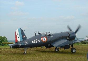 French Corsairフランス海軍F4U-7downsize