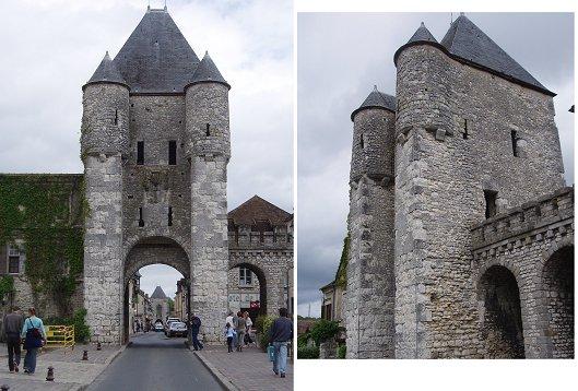 Moret sur Loingの城門 複合downsize