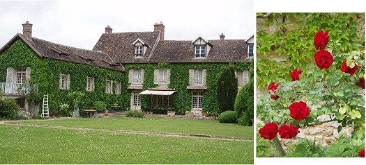 レストランLe Relais de Pont Loupの裏庭 複合downsize