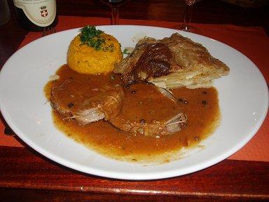 サヴォワ(Savoie)料理の一皿downsize