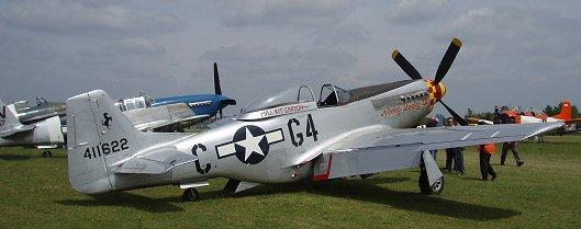 Ferete Alaisエアショー出演のP-51 Mustang DとB downsize
