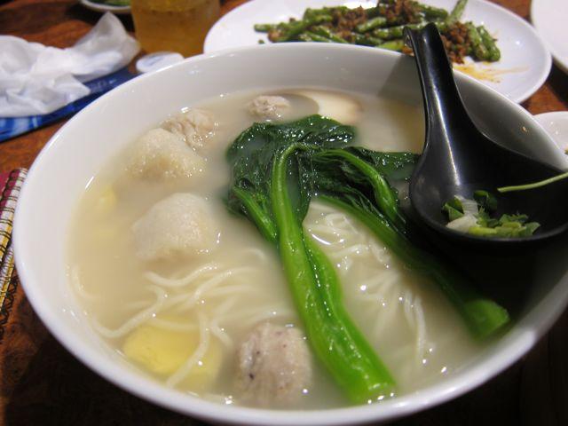フィッシュボール麺