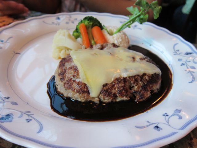 イタリアンハンバーグ