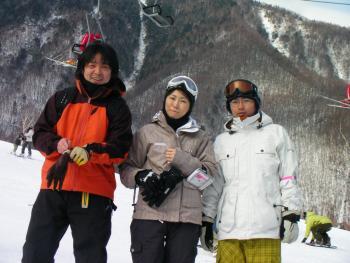 No XXXX,No Life.-2008.12.30 乗鞍高原温泉スキー場にて