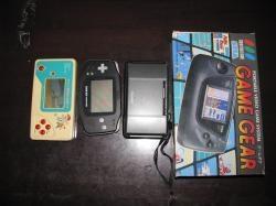 携帯ゲーム機。