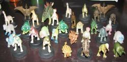 恐竜さんたち。