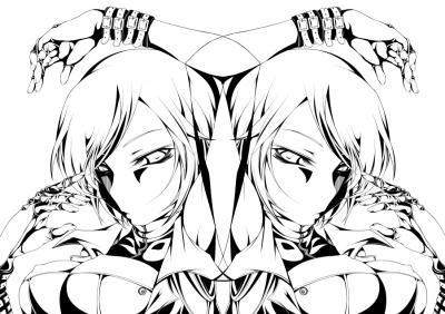 メイコ&メイコ_線画