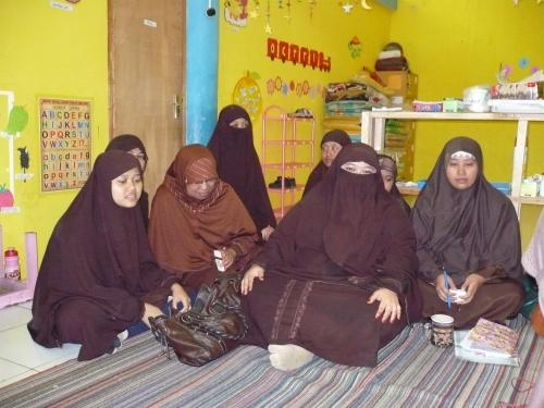 イスラム幼稚園の先生方