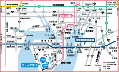 ポートメッセ地図