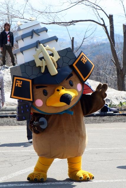 2010 弘前市弥生いこいの広場 開場式 たか丸くん