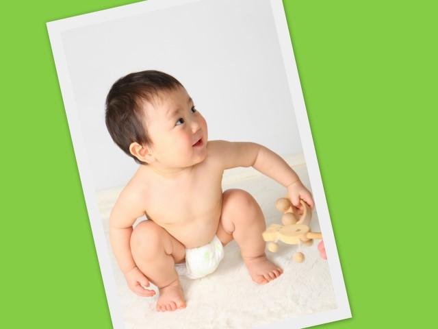 赤ちゃん お誕生日 記念撮影