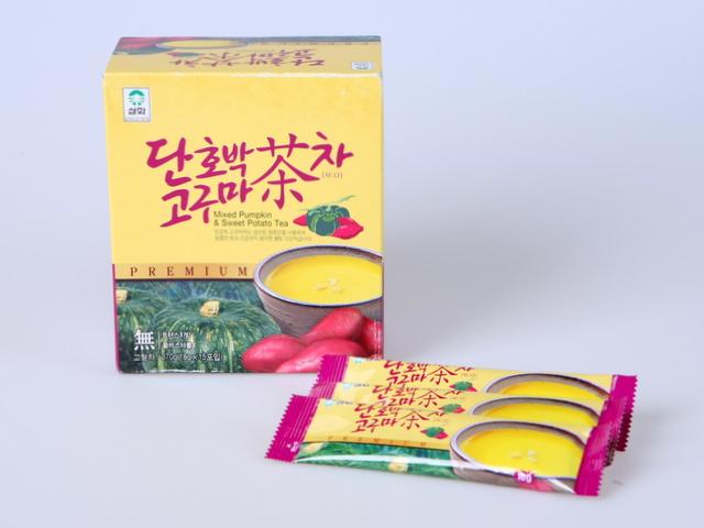 スィートポテト パンプキン お茶