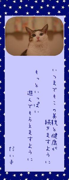 七夕祭り 2010 05 だい子さんのお願い事