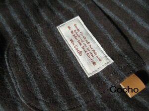 布帛ブーツカットパンツ 後ポケット