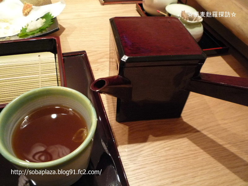 2.手打ち蕎麦 萱草庵 (そば湯&湯桶)