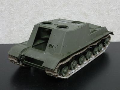 JSU-152 車体上面
