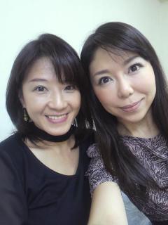 川島真紀さんと私