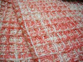 織り地アップ
