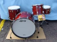 Ludwig Pearl Maple SunSet ラディック ドラムセット