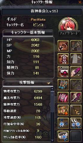 ピンコ55ステ(攻撃)