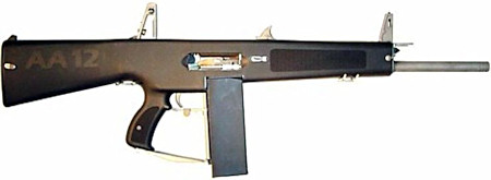 AA-12 automatic 12 Gauge Shotgun