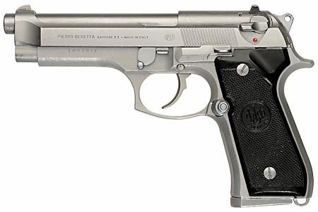 Beretta M92F inox