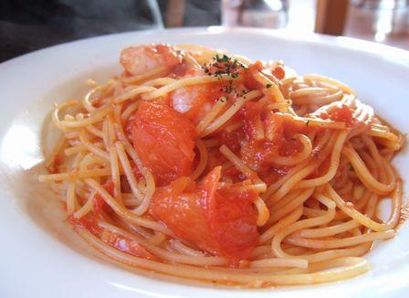トマトと海老