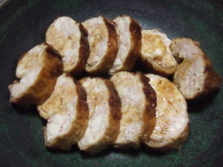 鶏ひき肉の揚げ巻き