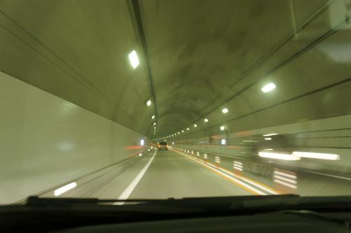 トンネルだよ~!