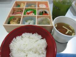 VIPラウンジ専用の和食弁当